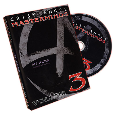 Masterminds (MF Aces) Vol. 3 - Criss Angel - DVD