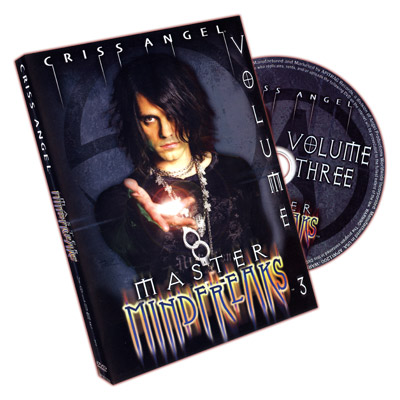 Master Mindfreaks - Criss Angel - Vol 3 - DVD