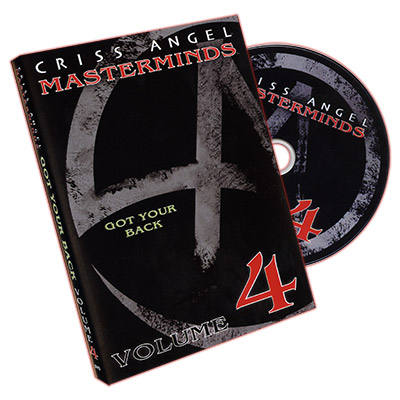 Masterminds (Got Your Back) Vol. 4 - Criss Angel - DVD