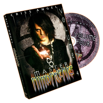 Master Mindfreaks - Criss Angel - Vol 4 - DVD