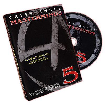 Masterminds (Card Fusion) Vol. 5 - Criss Angel - DVD