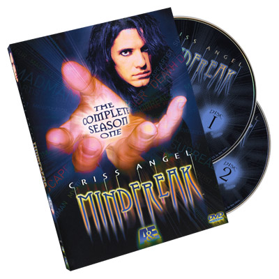 Criss Angel Mindfreak Temporada Uno (2005) - DVD