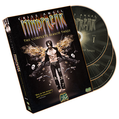 Mindfreak - Complete Season Three - Criss Angel - DVD