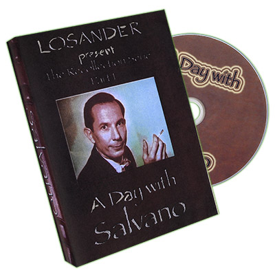 A Day With Salvano - DVD