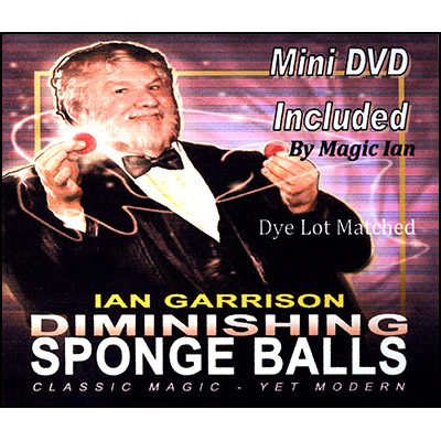 Disminucion de Bolas de Esponja (Bolas & DVD) - Ian Garrison
