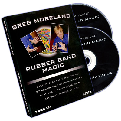 Trucos de Magia con Bandas Elasticas (2 DVD Set) - Greg Moreland