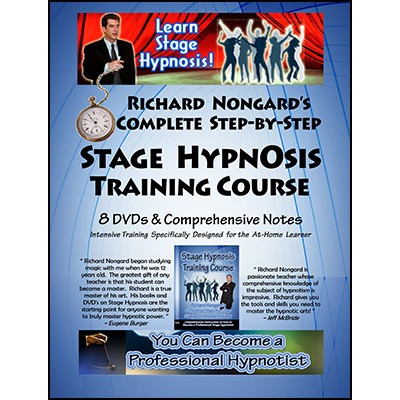 Complete Stage Hypnosis Training Course by Richard Nongard - DVD