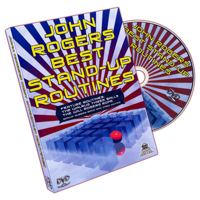 Best Stand Up Routines - John Rogers - DVD