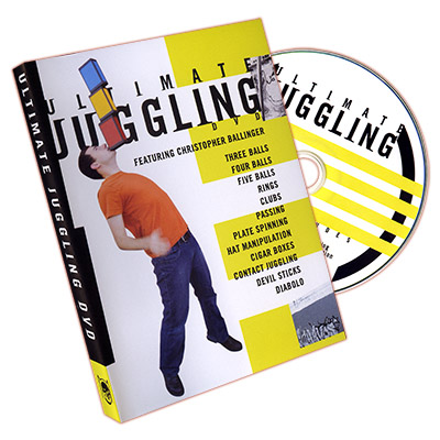 Ultimate Juggling by Christopher Ballinger - DVD