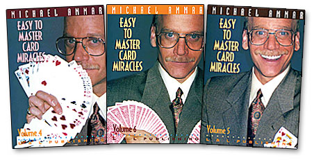 Easy to Master Card Miracles Vol.6 - Michael Ammar