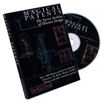 Patentes de Trucos de Magia: Archivos Secretos de Dise?os de Ilusiones - CD