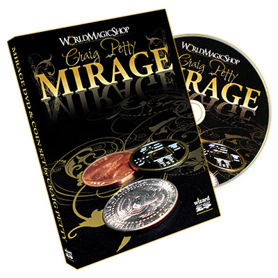 Mirage - (DVD and Coin Set) by Craig Petty and World Magic Shop - DVD