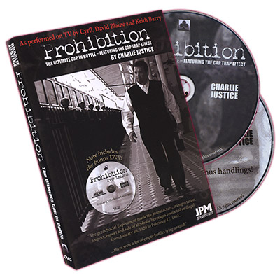 Prohibition 2.0 (2 DVD Set) - Charlie Justice & Jeff Pierce