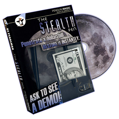 Stealth Pen (DVD & Props) - Oz Pearlman