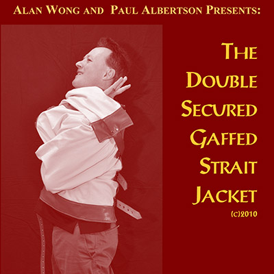 Straight Jacket (prop and DVD) by Paul Albertson and Alan Wong - DVD