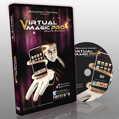Virtual Magic Pro - Benjamin Vianney - DVD