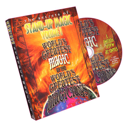 Stand-Up Magic - Vol 1 (Worlds Greatest Magic)
