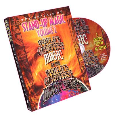 Stand-Up Magic - Vol 2 (Worlds Greatest Magic)