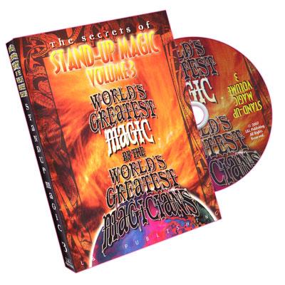 Stand-Up Magic - Vol 3 (Worlds Greatest Magic)- DVD de Magia