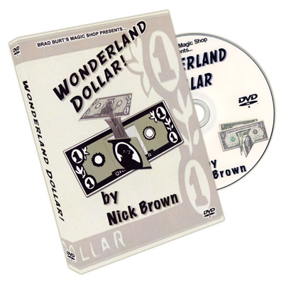 Wonderland Dollar (con Billete) - Nick Brown