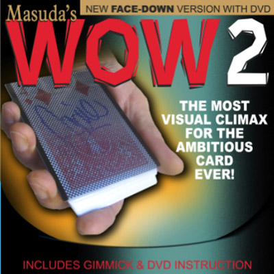 Wow 20 (Face Down Version & DVD) - Masuda - DVD