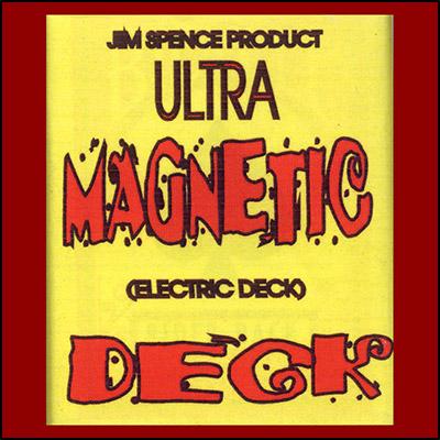 Electric Deck (ROJO) - Jim Spence Magic