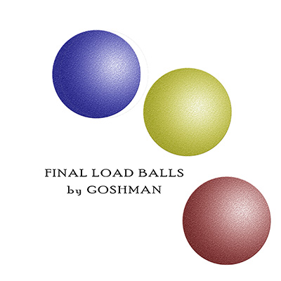 Final Load Balls (Set of 3) - Goshman