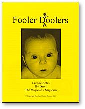 Fooler Droolers Lecture Notes - Daryl - Libro de Magia