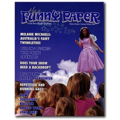 The Funny Paper Magazine - January/February 2006 (# 6 Number 3) - Libro de Magia