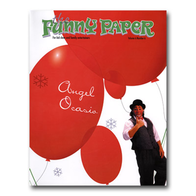 Funny Paper Magazine (# 6 Number 6) - Libro de Magia