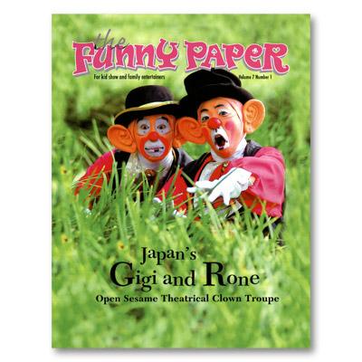 Funny Paper Magazine (# 7 Number 1) - SPS Publications - Libro de Magia