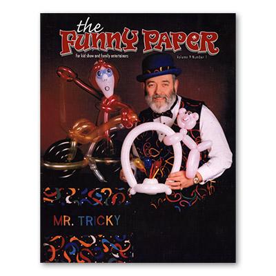 Funny Paper Magazine (# 9 Number 1) - SPS Publications - Libro de Magia