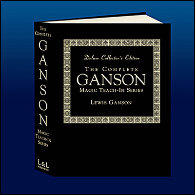 The Complete Ganson Teach-In Series Deluxe Edition - Lewis Ganson & L&L Publishing - Libro de Magia