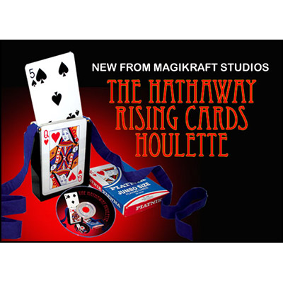 Hathaway Rising Cards Houlette (With DVD) by Martin Lewis - Trick