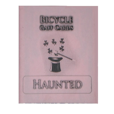 Haunted Deck Cartas Bicycle - (Rojo)