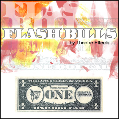 Flash Bills (packet of 4) - Theater Effects