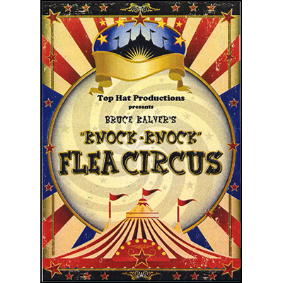 Knock Knock Flea Circus (French Front) by Bruce Kalver - Trick