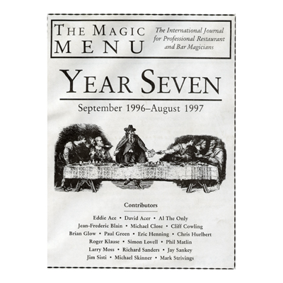 Year 7 : The Magic Menu - Libro de Magia