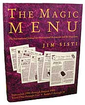 Magic Menu: Years 1 through 5 - Libro de Magia