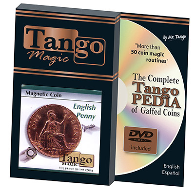 Magnetic Coin English Penny by Tango