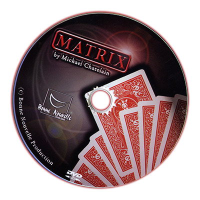 Matrix (includes DVD) by by Mickael Chatelain - Trick