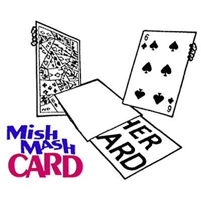 Mish-Mash Card by Harry Anderson - Trick