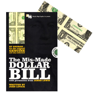 Mis-Made Dollar Bill - James Lewis written by John Lovick