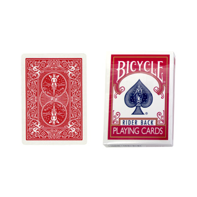 Cartas para Forzar - 1 Eleccion - Rey de Picas - Cartas Bicycle - Rojo