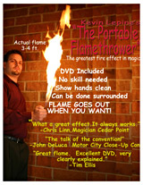 Portable Flame Thrower Flyer Thumbnail