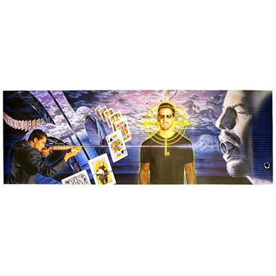 Bullet Catch Poster (AUTOGRAFIADO Standard Edition, AZUL) - David Blaine