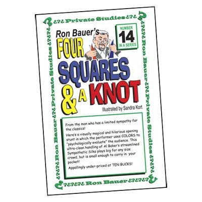 Ron Bauer Series: # 14 - Four Squares & A Knot - Libro de Magia