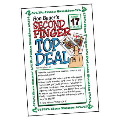 Ron Bauer Series: # 17 - Second Finger Top Deal - Libro de Magia
