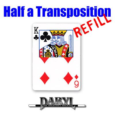 Repuesto para Half A Transposition (Rojo - 6D/KC) - Daryl