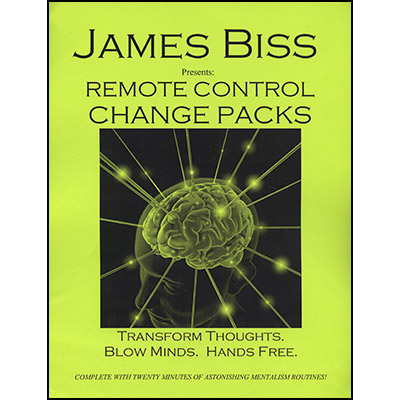 Remote Control Change Pack by James Biss - Trick